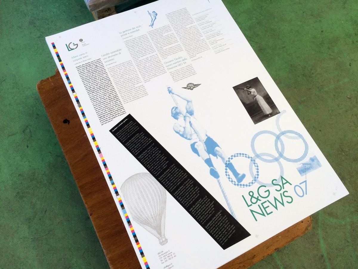 L&G Newsletter nr7 in stampa
